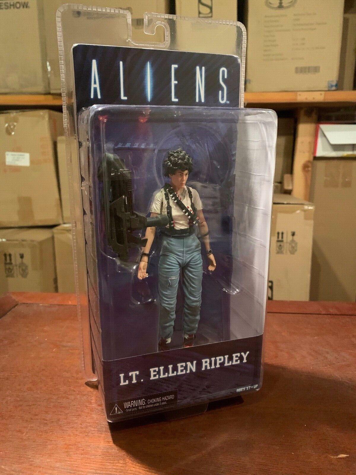 NECA Aliens Lt. Ellen Ripley Flame Thrower serie 5 7  - Factory Meerled