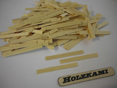 Kiefer Holzleisten 50mm x 3mm x 0.8mm  L//B//H  Neu 250 Stück
