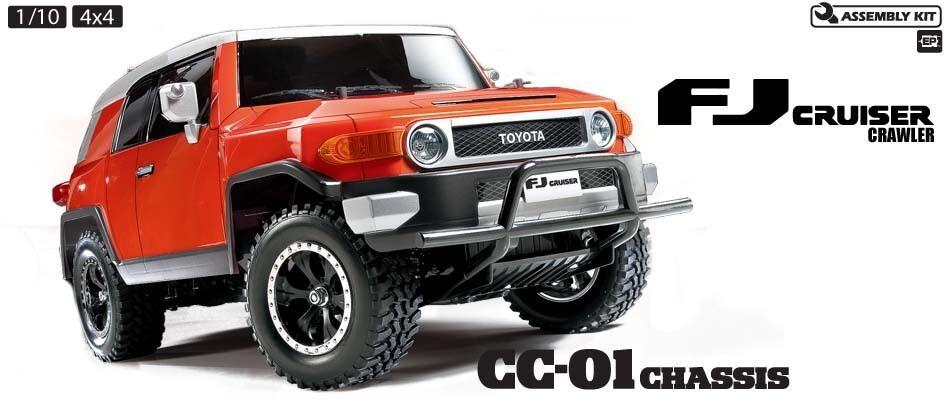 Tamiya 58588 Toyota FJ Cruiser RC Car Kit DEAL BUNDLE with STEERWHEEL Radio