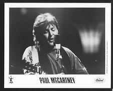 VINTAGE ORIGINAL Ltd Edition Promo Photo 8x10 Paul McArtney 1991