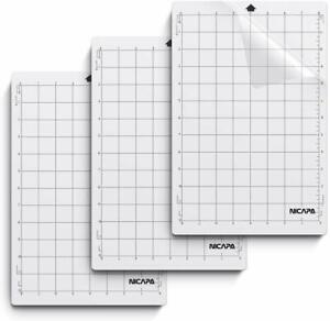 Nicapa-Cutting-Mats-for-Silhouette-Portrait-Craft-Standard-Grip-8x12-inch-3Pcs