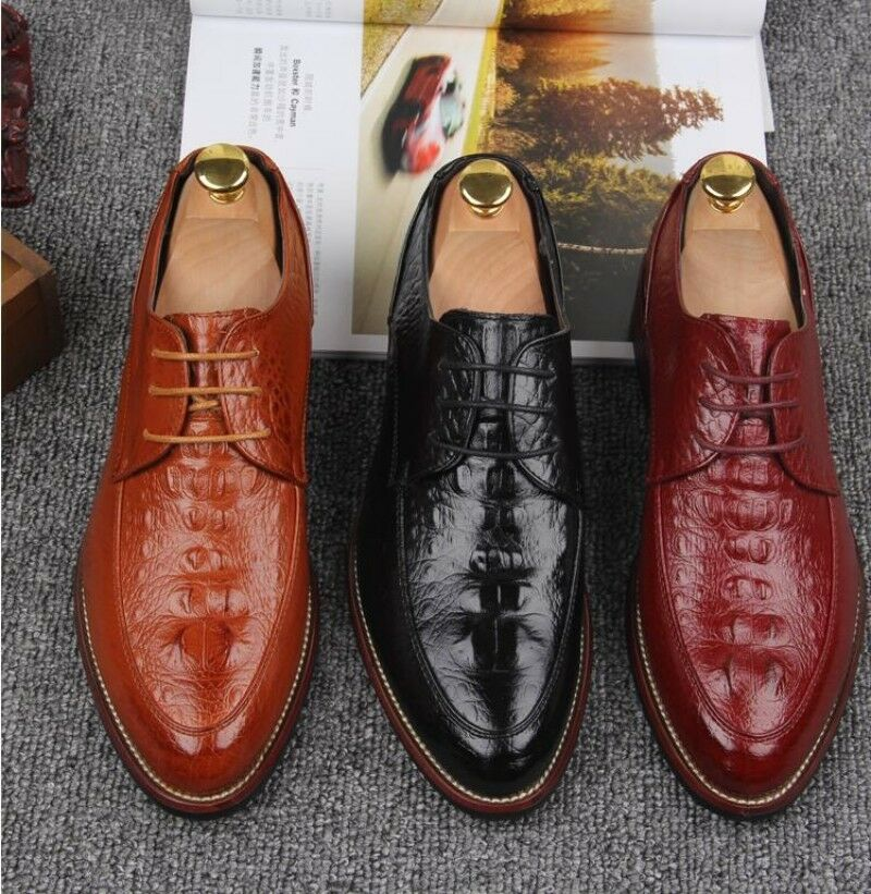 Mens Pointy Toe Fashion Punk Dress Casual Work Business formal shoes ALL US SZ