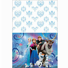 FROZEN MAGIC PLASTIC TABLE COVER ~ Birthday Party Supplies Decorations Cloth