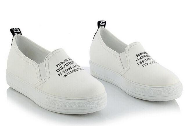 Los zapatos más populares para hombres y mujeres Descuento por tiempo limitado Bailarinas mocasines zapatos de mujer pan la tierra blanco como piel cómodo 9173