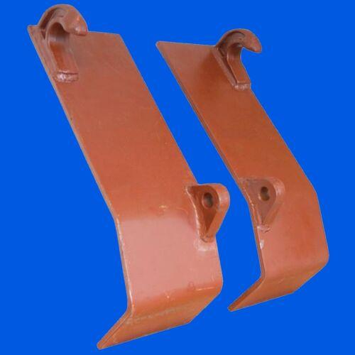 Anschweißplatten für Anbaugeräte  Frontlader  Industrielader  Gabel Schaufel