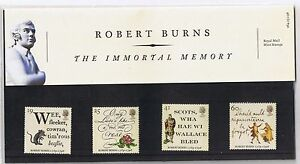 GB-Presentation-Pack-264-1996-Robert-Burns-Stamps-10-OFF-ANY-5