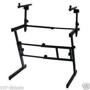 Keyboard Dj Coffin Piano Stand Z Folding Portable Heavy
