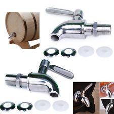Stainless Steel Wine Barrel Spigot Faucet Oak Barrel Faucet Keg Tap LD559