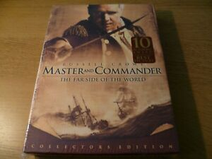 Master-And-Commander-Collector-s-Edition-DVD-New-Sealed-Region-1-NTSC