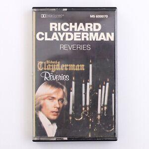 Richard-Clayderman-Reveries-Autographed-Signed-Cassette-Tape-M5-6000070