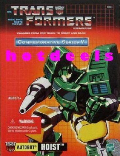 NEUF scellé-Transformers G1 Generation 1-Treuil TRU réédition-US Vendeur!