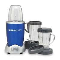 Brand Nutribullet 8-piece Nutrition Blender Set 600 Watts Nbr-1201b - Blue