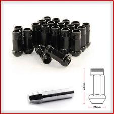 BLACK Bloccaggio Dadi Delle Ruote 12x1.5 Bulloni Per TOYOTA Mark X ZIO 07-16