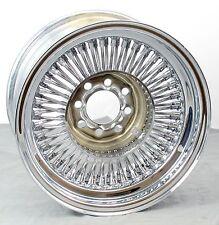 "Wicked Wires 80 Spoke 14"" Standard Chrome Wheel - 4x4.25"" & 4x4.5"" Bolt Pattern"