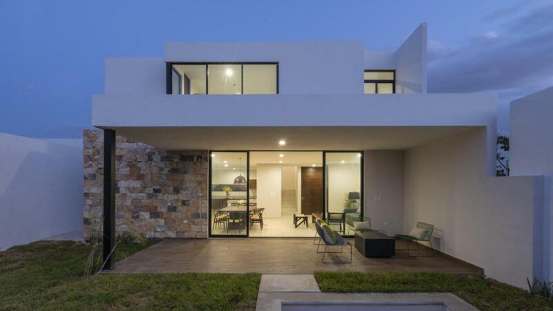 casa en venta en merida, yucatan en Temozon norte, piscina incluida