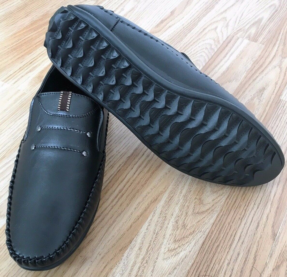 Men Loafer Moccasin Drive Boat Classic shoes Smart Casual Slip on Light Size