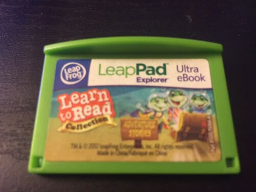 Leapfrog Leapster LeapPad LEARN TO READ — ADVENTURE STORIES eBook Game Cartridge