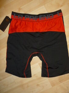 Layer 8 Men/'s Ultra-Soft 3Pk Sports Performance Quick-Dry Boxer Brief $40 New!
