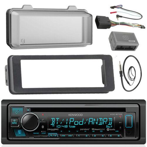 Bluetooth CD Radio Cover,Antenna 98-13 FLHX Scosche Harley Adapter Install Kit