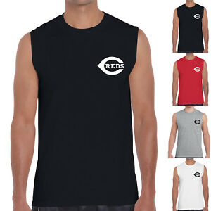 7f5199e262b13f Image is loading Cincinnati-Reds-Baseball-Tank-Top-Sleeveless-T-Shirts-