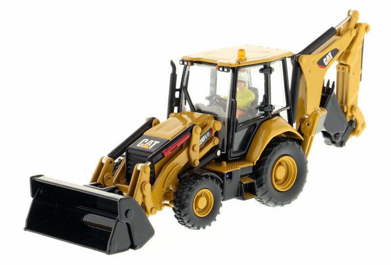 Diecast Cat 1 50 420F2 se 85233 construcción vehículo Retroexcavadora Coche Camión