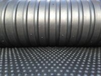 Three x ArkMat Bubble Top Rubber Stable Matting 6ftx4ft 18 mm Horse Mats