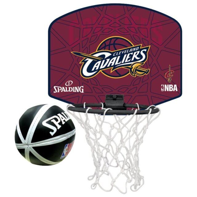 d80cfb4b5 SPALDING JAPAN Basketball Mini NBA Cleveland CAVALIERS Goal   Ball Set  77-637Z