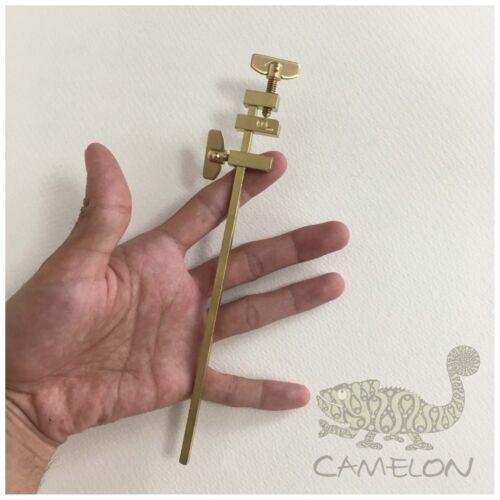 SAKURA JAPAN Traditional HATAGANE Brass Clamp DIY Carpenter Set of 2 180mm