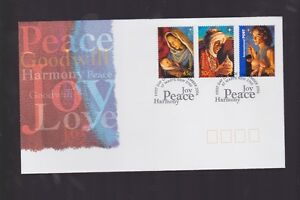 Australia-2006-Joy-Peace-Harmony-St-Mary-039-s-PMK-Christmas-Virgin-Mary-FDC-J-463