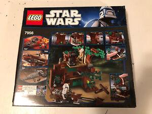 Lego Star Wars Ewok Attack 7956 Retired