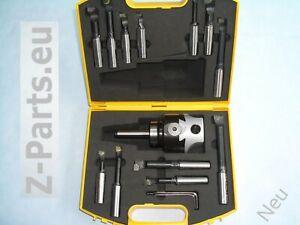 Cabeza de perforación/ausdrehkopf set 75 mm Mk 2/m 10 con 12 unid perforación varillas de nuevo