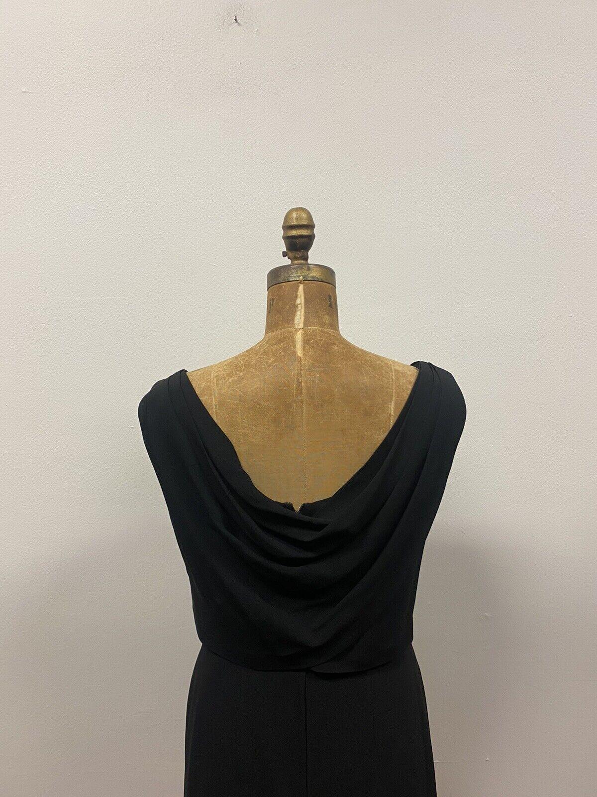 Vintage 1950's SUZY PERETTE Black Cocktail Dress,… - image 7