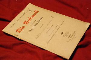 DIE-ZUKUNFT-MAXIMILIAN-HARDEN-ORIGINAL-37-BERLIN-JUNE-1919-THE-FUTURE-GERMAN-WAR