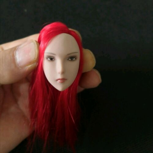 """Details about  /1//6 Red Hair Head Sculpt Carved F 12/"""" Female PH JO TBL Action Figure Body Toys"""
