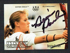 Denise-Parker-36-signed-autograph-auto-1996-Upper-Deck-Olympic-Trading-Card