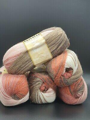 Hermoso Hilo De Lana De Tejer Crochet Nako//bolas de hilo de 1 X 500g Pack Nuevo F