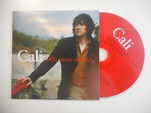 CALI-1000-COEURS-DEBOUT-CD-SINGLE-PORT-GRATUIT