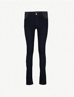J Brand Mama J Skinny Mid-rise Jeans Premaman Taglia 28 £ 220+- Fornitura Sufficiente