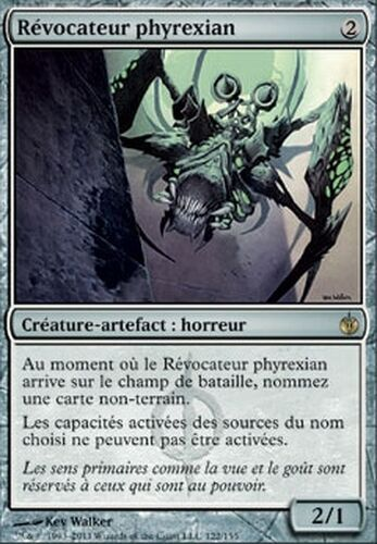 ▼▲▼ Révocateur phyrexian assiégé #122 VF Magic Phyrexian Revoker