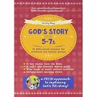 God's Story for 5-7s: 36 Bible-Based Sessions for Midweek and Sunday Groups by Becky May (Paperback, 2016)