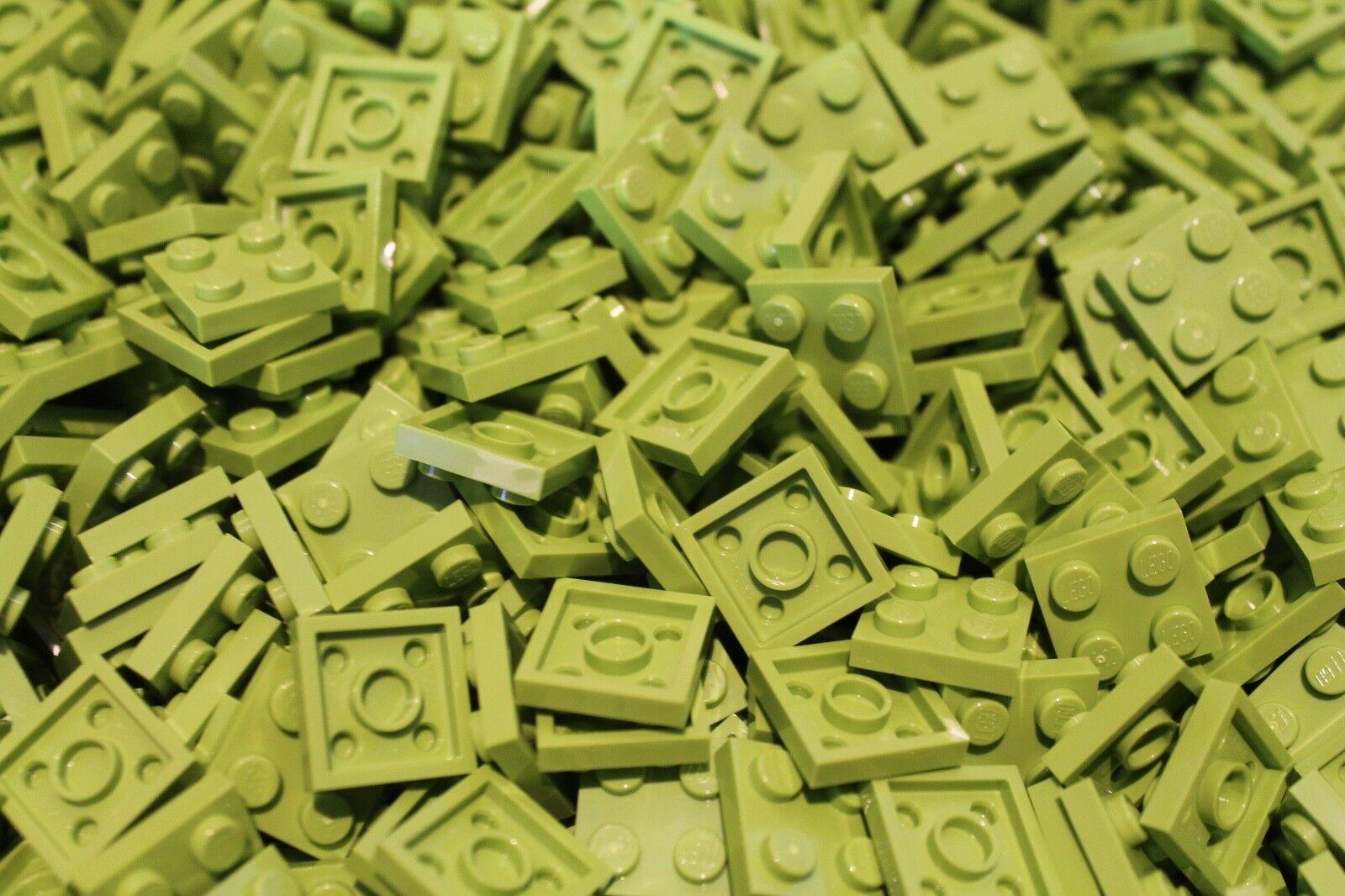 500 x LEGO® Plate   Platten 2x2 ( 3022 ) in Limetten green   Lime NEU