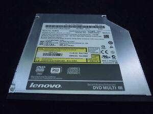 Lenovo ThinkPad T400 T410 T430 R400 W500 W510 Laptop DVD±RW Drive UJ8B2 45N7457