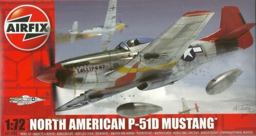North American P 51 D Mustang A01004 Airfix 01004 1:72