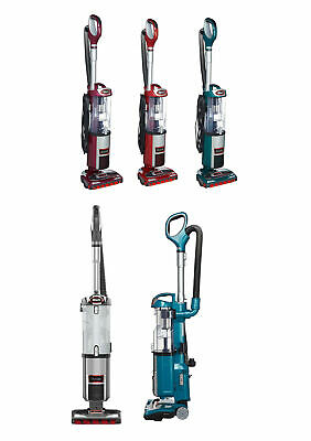 Shark DuoClean Ultra Powerful Slim Upright Vacuum, Blue (Certified Refurbished)