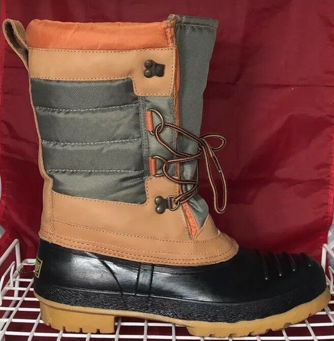 RARE VINTAGE LANDS END INSULATED WINTER SNOW BOOTS WOMEN'S SIZE 11 NEW