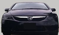 06-11 Honda Civic Vinyl Headlight Tint Covers Smoked Pre-cut $5 Refund Available