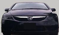 06-11 Honda Civic Vinyl Headlight Tint Covers Smoked Pre-cut $5 Refund Available