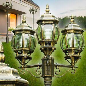 Détails sur Lampadaire Lampe d'extérieur Luminaire de jardin Lanterne Lampe sur pied 142247