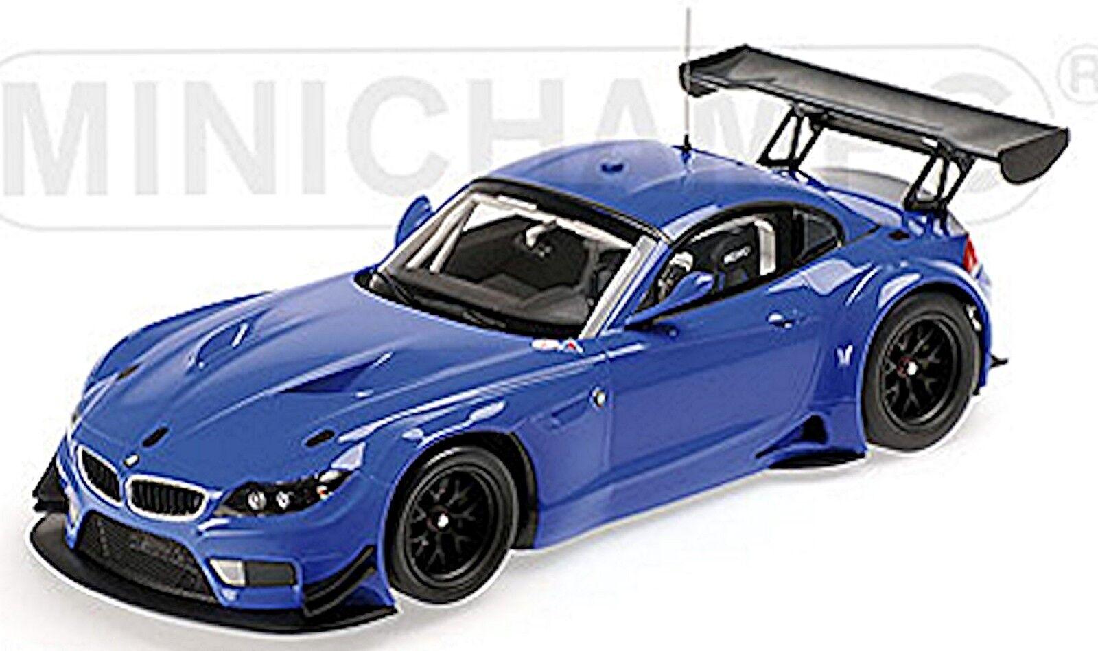 BMW z4 gt3 Coupe e89 streetversion 2012 Bleu bleu 1 18 MINICHAMPS