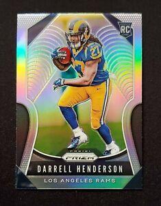 DARRELL HENDERSON - 2019 Panini Prizm - SILVER PRIZM Rookie RC #330 - Rams 🔥📈